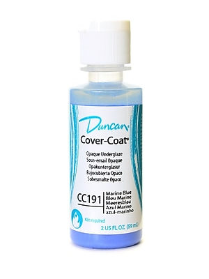 Duncan Cover-Coat Opaque Underglazes Marine Blue 2 Oz. [Pack Of 4] (4PK-CC191-2 81238)