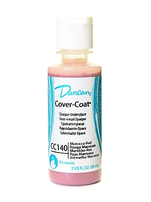 Duncan Cover-Coat Opaque Underglazes Morocco Red 2 Oz. [Pack Of 4] (4PK-CC140-2 91768)