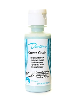 Duncan Cover-Coat Opaque Underglazes Papago Turquoise 2 Oz. [Pack Of 4] (4PK-CC180-2 91822)
