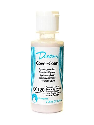 Duncan Cover-Coat Opaque Underglazes Samoa Taupe 2 Oz. [Pack Of 4] (4PK-CC120-2 91745)