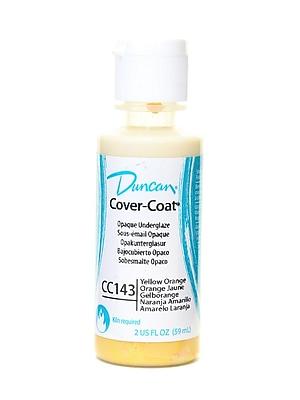 Duncan Cover-Coat Opaque Underglazes Yellow Orange 2 Oz. [Pack Of 4] (4PK-CC143-2 91774)