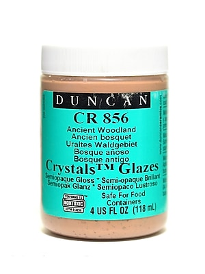 Duncan Crackle And Crystal Glazes Ancient Woodland Cr856 4 Oz. [Pack Of 3] (3PK-CR856-4 27141)