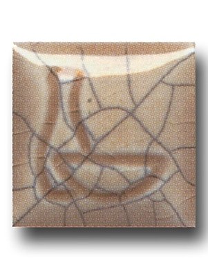 Duncan Crackle And Crystal Glazes Mocha Cream Crackle Cr822 4 Oz. [Pack Of 4] (4PK-CR822-4 98286)