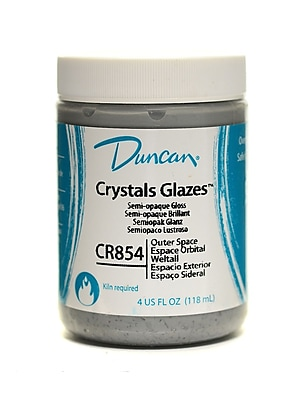 Duncan Crackle And Crystal Glazes Outer Space Cr854 4 Oz. [Pack Of 3] (3PK-CR854-4 27139)