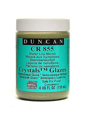 Duncan Crackle And Crystal Glazes Water Lily Marsh Cr855 4 Oz. [Pack Of 3] (3PK-CR855-4 27140)