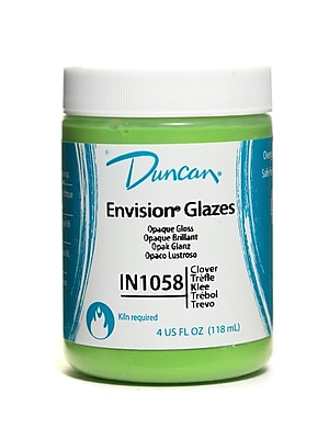 Duncan Envision Glazes Clover Opaque 4 Oz. [Pack Of 4] (4PK-IN1058-4 99807)