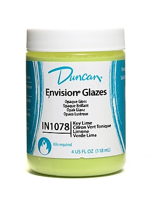 Duncan Envision Glazes Key Lime Opaque 4 Oz. [Pack Of 4] (4PK-IN1078-4 81286)