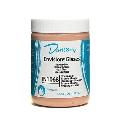 Duncan Envision Glazes Ocean Mist Opaque Speckled 4 Oz. [Pack Of 4] (4PK-IN1068-4 81276)
