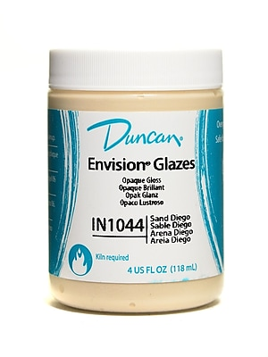 Duncan Envision Glazes Sand Diego Opaque 4 Oz. [Pack Of 4] (4PK-IN1044-4 98564)