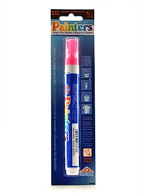 Elmer'S Painters Markers Each Neon Hot Pink [Pack Of 6] (6PK-W7367)