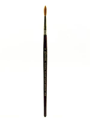 Escoda Series 1212 Tajmyr Kolinsky Sable Brushes 6 Round (1212-6)