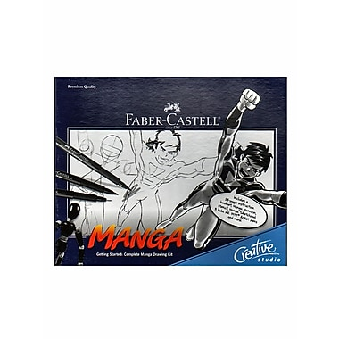 Faber-Castell Complete Manga Drawing Kit Each (800095T)