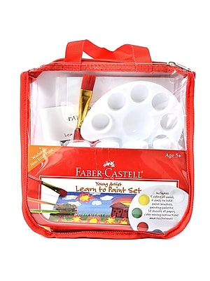 Faber-Castell Young Artist Learn To Paint Kit Each (14519)