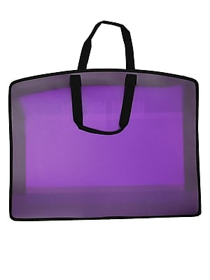 Filexec My Carry All Tote 18 In. X 24 In. Grape (34954)