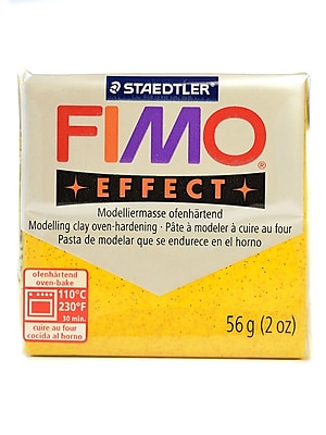 Fimo Soft Polymer Clay Glitter Gold 2 Oz. [Pack Of 5] (5PK-8020-112 US)