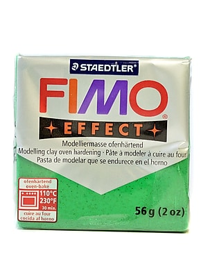 Fimo Soft Polymer Clay Glitter Green 2 Oz. [Pack Of 5] (5PK-8020-502 US)