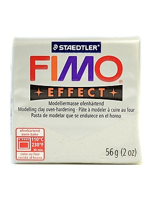 Fimo Soft Polymer Clay Glitter Silver 2 Oz. [Pack Of 5] (5PK-8020-812 US)
