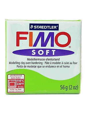 Fimo Soft Polymer Clay Lime Green 2 Oz. [Pack Of 5] (5PK-8020-50 US)