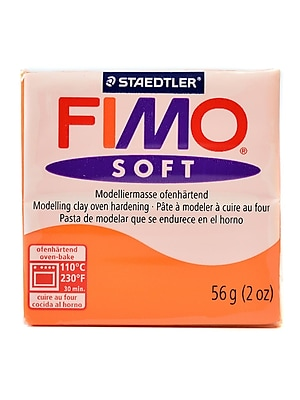 Fimo Soft Polymer Clay Mandarin 2 Oz. [Pack Of 5] (5PK-8020-42 US)