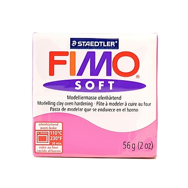 Fimo Soft Polymer Clay Raspberry 2 Oz. [Pack Of 5] (5PK-8020-22 US)