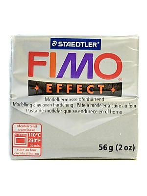 Fimo Soft Polymer Clay Silver 2 Oz. [Pack Of 5] (5PK-8020-81 US)