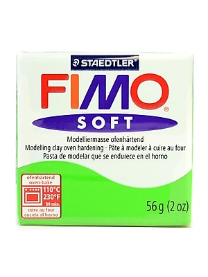 Fimo Soft Polymer Clay Tropical Green 2 Oz. [Pack Of 5] (5PK-8020-53 US)