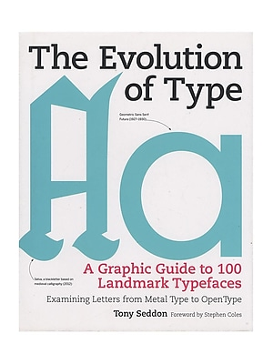 Firefly Books The Evolution Of Type Each (9781770855045)