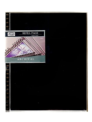 Florence Archival Page Protectors 9 1/2 In. X 12 1/2 In. Pack Of 10 (FRE0312)
