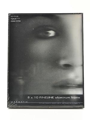 Framatic Fineline Aluminum Frames Black 8 In. X 10 In. (F0810B)
