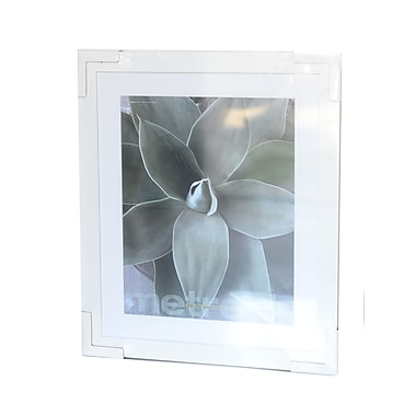 Framatic Metro Seamless Panel Frames White 20 In. X 24 In. 16 In. X 20 In. Opening (02024W)