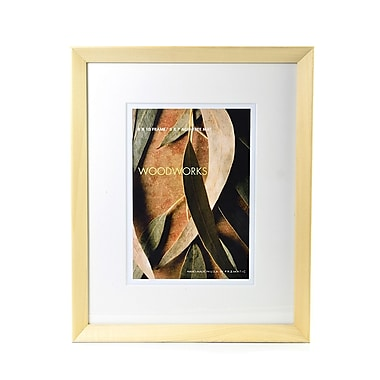 Framatic Woodworks Frames 8 In. X 10 In. 5 In. X 7 In. Opening Natural Blonde (W0810LX14)