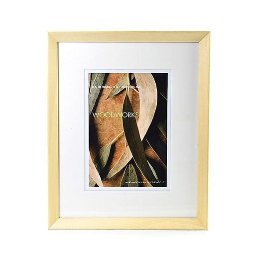 Framatic Woodworks Frames 8 In. X 10 In. 5 In. X 7 In. Opening ...