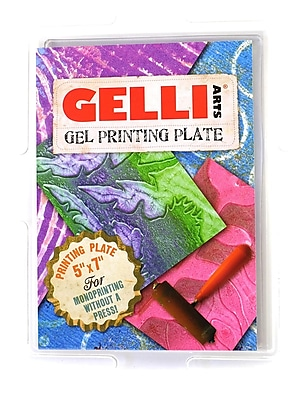 Gelli Arts Gelli Printing Plates Rectangular 5 In. X 7 In. (091037821959)