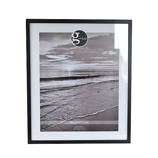 Gemline Frame All Purpose Solid Wood Frames Black 20 In X 24 In