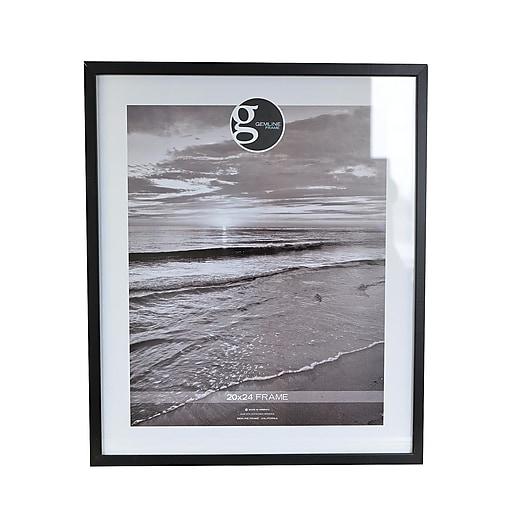 Gemline Frame All Purpose Solid Wood Frames Black 20 In X 24 In 099002024bk