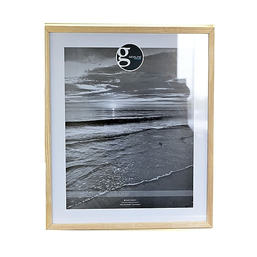 Gemline Frame All Purpose Solid Wood Frames Natural 20 In. X 24 In ...