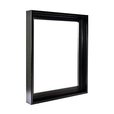 Gemline Frame Stretched Canvas Floater Frames Black 18 In. X 24 In. (777.101824BK)