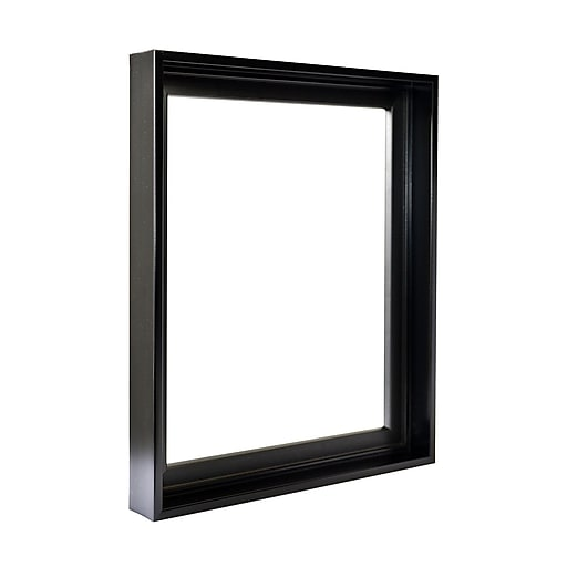 Gemline Frame Stretched Canvas Floater Frames Black 18 In. X 24 In ...