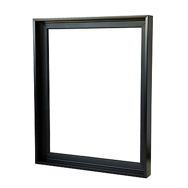 Gemline Frame Stretched Canvas Floater Frames Black 16 In. X 20 In. (777.101620BK)
