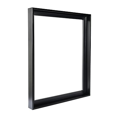 Gemline Frame Stretched Canvas Floater Frames Black 30 In. X 40 In. (777.103040BK)