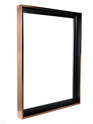 Gemline Frame Stretched Canvas Floater Frames Bronze 18 In. X 24 In. (777.101824BR)