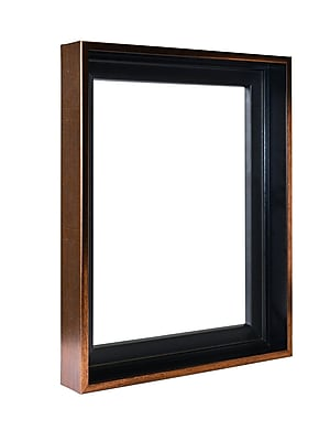 Gemline Frame Stretched Canvas Floater Frames Bronze 24 In. X 30 In. (777.102430BR)