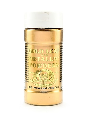 Gold Leaf And Metallic Co. Metallic And Mica Powders Deep Gold 2 Oz. (GLMP-0030-002)