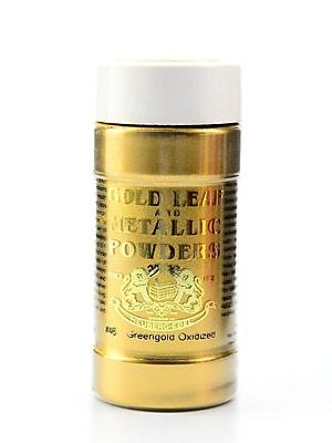 Gold Leaf And Metallic Co. Metallic And Mica Powders Green Gold Oxidized 2 Oz. (GLMP-0046-002)