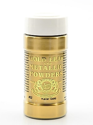 Gold Leaf And Metallic Co. Metallic And Mica Powders Karat Gold 2 Oz. (GLMP-0032-002)
