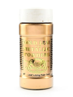Gold Leaf And Metallic Co. Metallic And Mica Powders Leaf/Lining Pale Gold 2 Oz. (GLMP-0007-002)