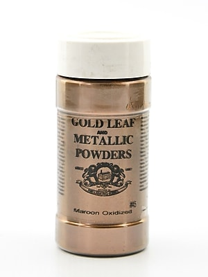 Gold Leaf And Metallic Co. Metallic And Mica Powders Maroon Oxidized 2 Oz. (GLMP-0045-002)