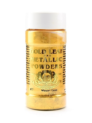 Gold Leaf And Metallic Co. Metallic And Mica Powders Mayan Gold Mica 1 Oz. (GLMP-0077-001)