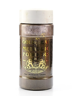 Gold Leaf And Metallic Co. Metallic And Mica Powders Nu-Antique Gold Mica 1 Oz. [Pack Of 2] (2PK-GLMP-0074-002)