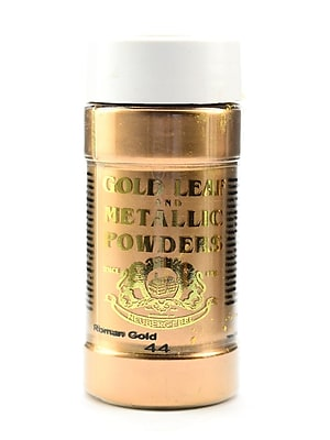 Gold Leaf And Metallic Co. Metallic And Mica Powders Roman Gold 2 Oz. (GLMP-0044-002)